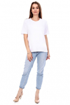 Новинка: простая белая футболка Кетлен